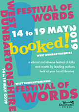 Booked! Festival graphics