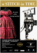 Exhibition for West Dunbartonshire Council on the history of the sewing machine