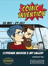 Comic Invention exhibition